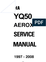 Yamaha Aerox YQ50 Service Repair Manual 1997-2008