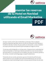 Como aumentar las reservas de tu Hotel en Navidad utilizando el Email Marketing