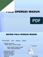 Pola Operasi Waduk