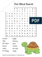 Esio Trot Word Search
