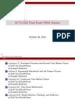 2102 Final Exam PASS Session