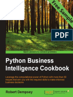 Python Business Intelligence Cookbook - Sample Chapter