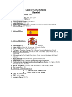 Country at a Glance spain.docx