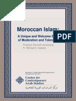 Center for Contemporary Arab Studies Moroccan Islam Oct 2013