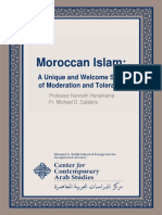 Center for Contemporary Arab Studies Moroccan Islam Oct 2013