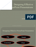 Designing Effective PPT