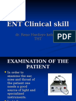 ent clinical skill