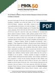 Ata da Plenária de Eleição e Posse do Diretório Municipal de Manaus do Partido Socialismo E Liberdade