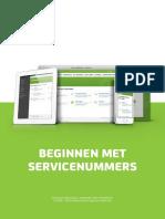 Beginnen Met Servicenummers