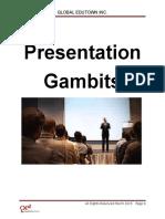 Presentation Gambits v3