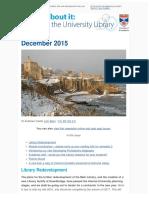 Library Newsletter December 2015