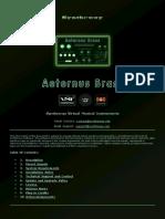 Aeternus Brass VST, VST3, Audio Unit Plugins