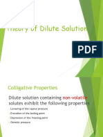 Dilute Solution