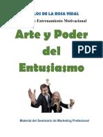 Arte y Poder Del Entusiasmo