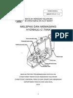 Melepas Dan Memasang Hydraulic Tank