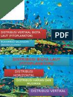 Distribusi Vertikal Biota Laut