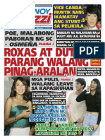 Pinoy Parazzi Vol 9 Issue 6 - December 16 - 17, 2015