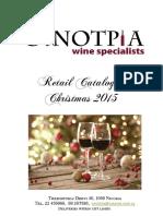 Oinotria Christmas Catalogue 2015