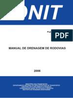 Manual Drenagem Rodovias