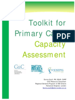 Mental Health Capacity Assessment Toolkit Overview