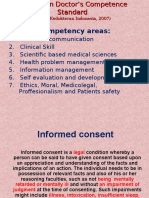 Informed Consent and Medical Record