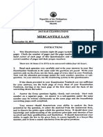 Mercantile Law 2015