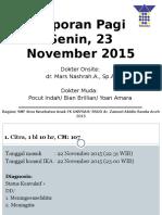 MR 23 November 2015
