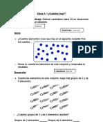 Actividades Matemática 1° B