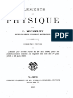 L.michelet - Elements de Physique