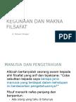 KFI_Modul 5_Kegunaan Dan Makna Filsafat