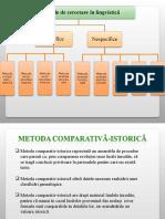 Metoda Comparativ Istorică