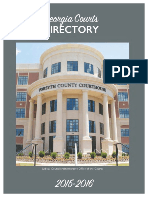 Ga Courts Directory 2015 2016test2