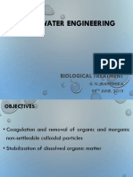 Biological Treatment of Wastewater
