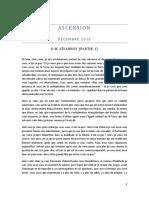 ASCENSION - Décembre 2015 - O.M. AÏVANHOV (Partie 1)