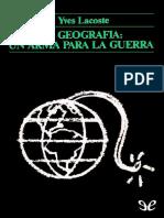 269718249 Lacoste Yves La Geografia Un Arma Para La Guerra 17860 r1 0 (1)