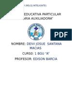 Unidad Educativa Particular David s .