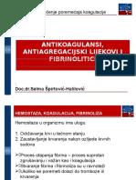 Antikoagulansi-predavanje