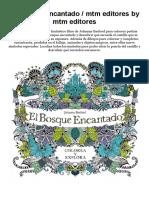 Download as PDF El Bosque Encantado _ Mtm Editores by Mtm Editores