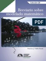 Breviario sobre modelado matemático