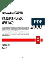 Xsara Picasso 2.0HDI - Info Tecnica_2006