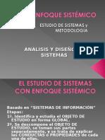 Estudio-diseno y Metodologia de Sistemas