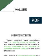 Values & Attitude