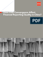 Effect IFRS on Financial Reporting Quality in China_LEE WALKER ZENG_2013
