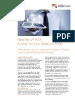 Wimax Asn1000 Data Sheet