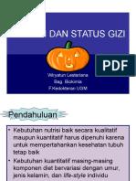 Nutrisi Dan Status Gizi