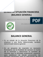 13. Estado de Situación Financiera (Balance General)