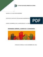 Desarrollo de La Democracia y La Ciudadanía Ensayo Diplomado