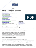 Urtiga - Chá Para Que Serve _ as Plantas Medicinais
