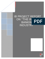 IB Project Indian banking industry.doc