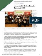11-12-15 Entrega Gobernadora Pavlovich Premio Estatal de la Juventud 2015 - Canal Sonora